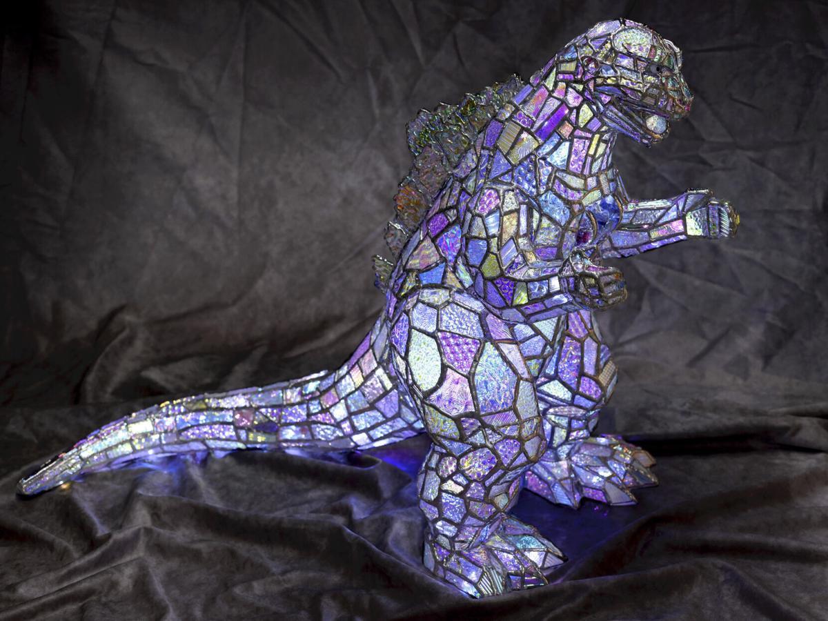 Kaleidoscope maker turns broken glass into works of art