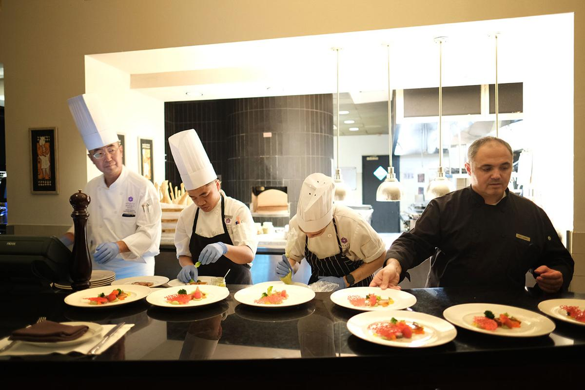 Diners delight at Al Dente's Chef's Table