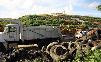 Hearing today on landfill status