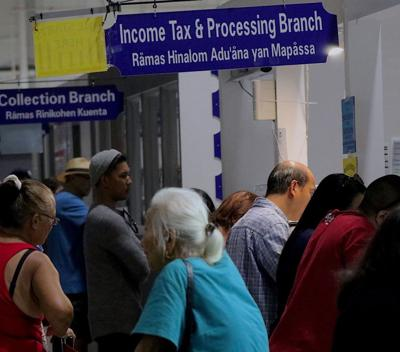 11,000 Guam tax refunds this week