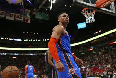 Thunder trading Russell Westbrook to Rockets for Chris Paul, draft picks
