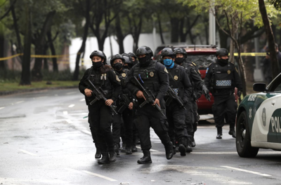 Mexico City police chief shot; cartel blamed