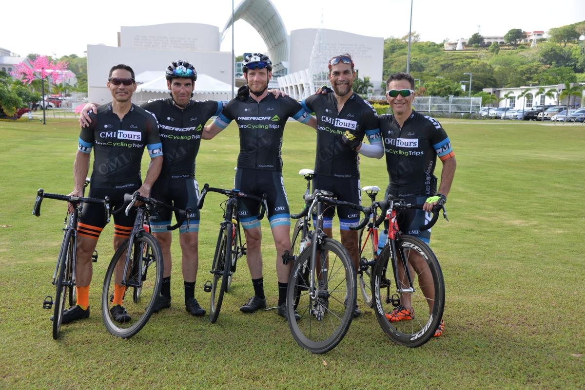 Meet Guam's first professional cycling team