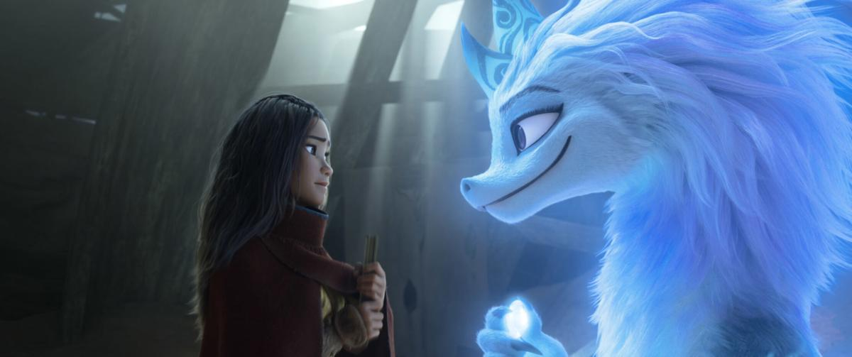 Disney's first Southeast Asian heroine leads the moving 'Raya and the Last Dragon'