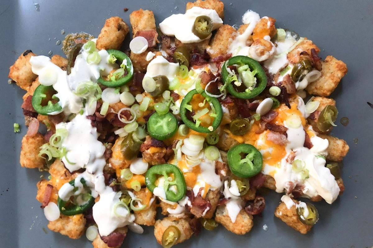 This fully loaded, not-quite-nacho feast is summer's go-to side dish