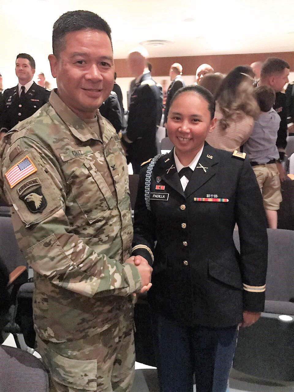 Padilla becomes Guam Guard's first female infantry officer 1