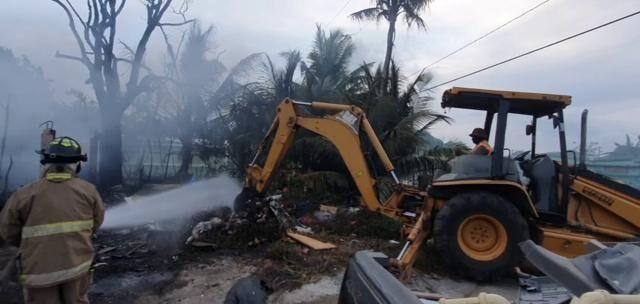 Family of 7 evacuated before fire engulfs Astumbo home