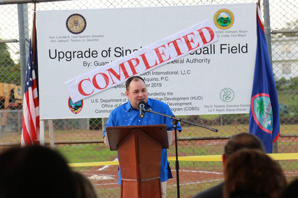Sinajana Baseball Field reopens with upgrades