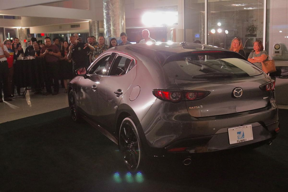 Triple J unveils 2020 Mazda3