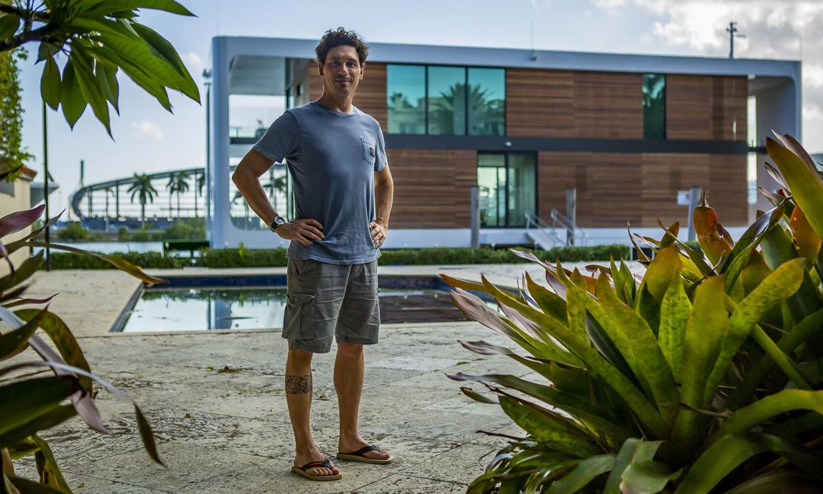Houseboat of the future designed for sea level rise