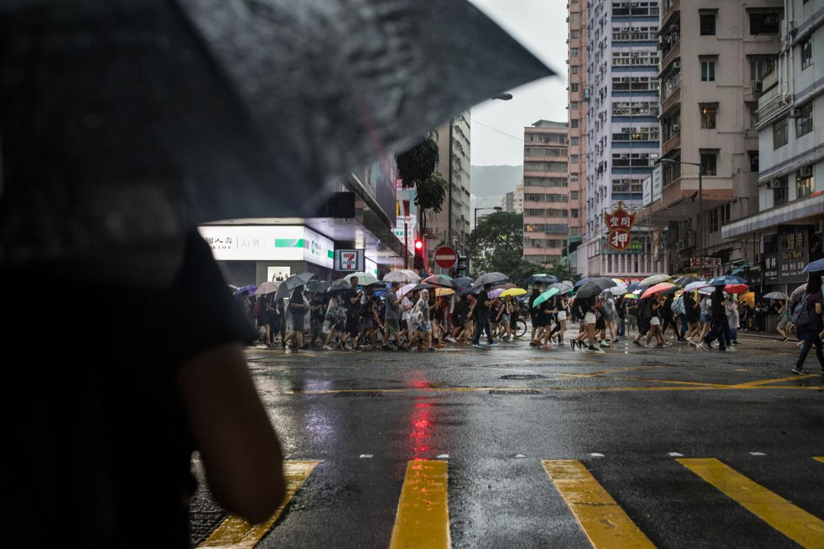 On the front lines in Hong Kong -6