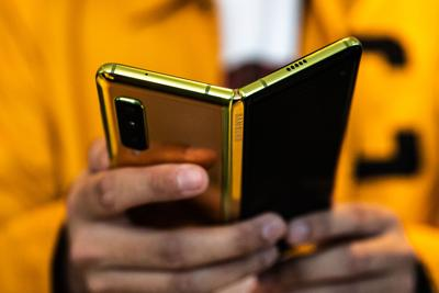 Samsung completes redesign for folding phone