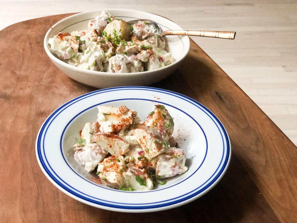 2 easy tricks to make your new favorite potato salad