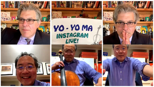 Q&A with Yo-Yo Ma: On listening to records with a beer and the unity of hope