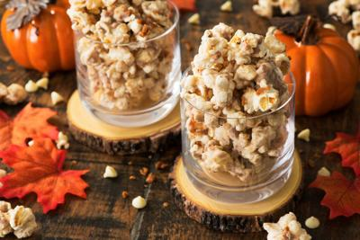 Fall's pumpkin spice finds its way to popcorn