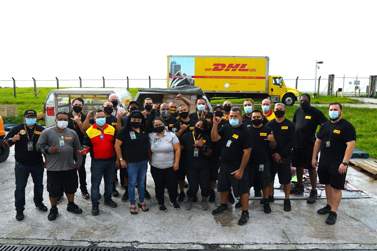 DHL marks 50 years on Guam, sees uptick in consumer goods