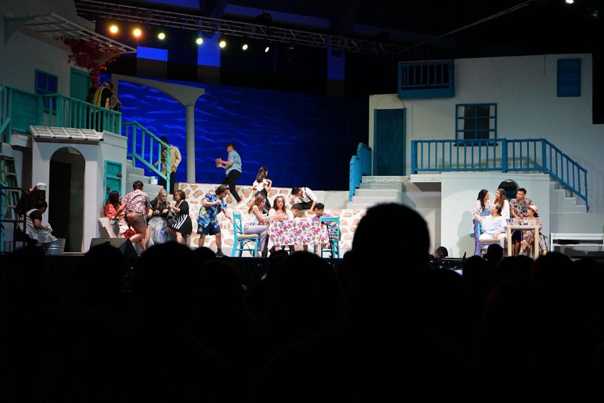'Mamma Mia!' dazzles island fans