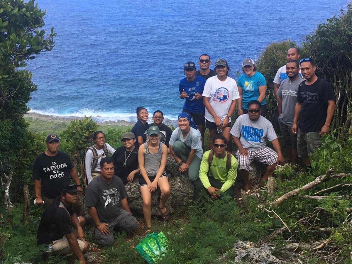 Ecology course arms outer-island foresters with research skills, network opportunities