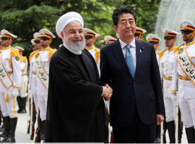 Japan's Abe warns of armed conflict