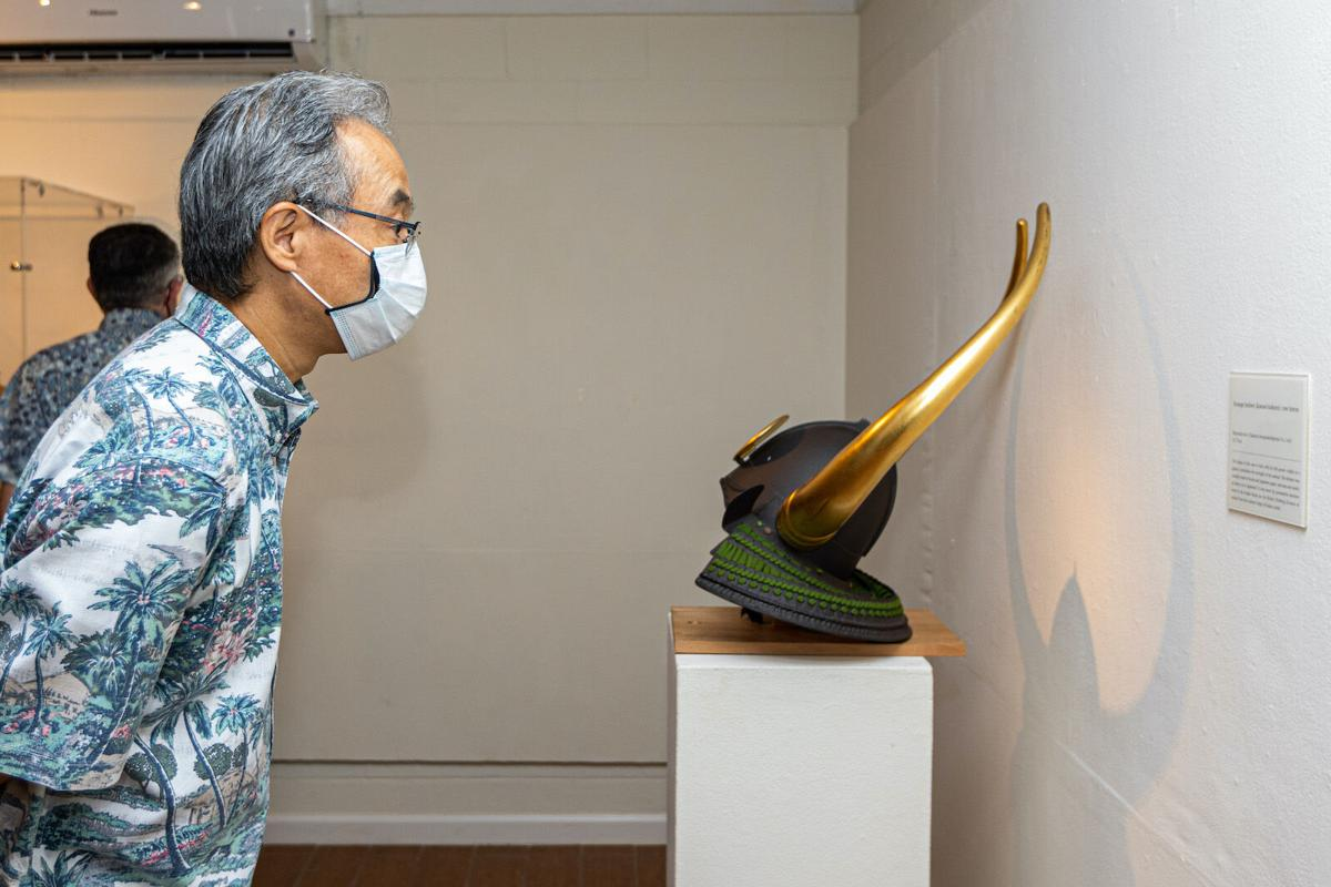 Traveling exhibit on Japanese martial arts opens at UOG