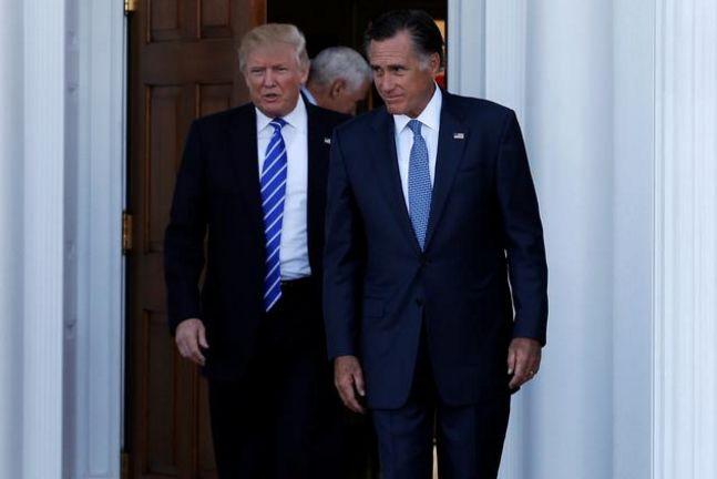 Trump blasts Romney in latest blow up