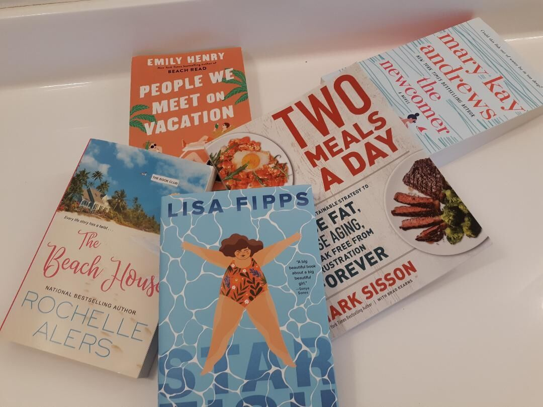A beach would be great, but not necessary for these reads