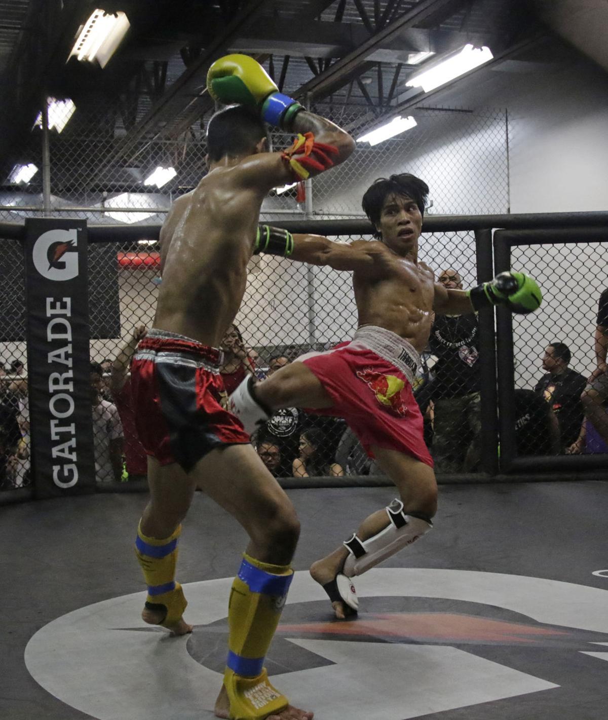 Glorified Sparring IV battles Friday PIC 2