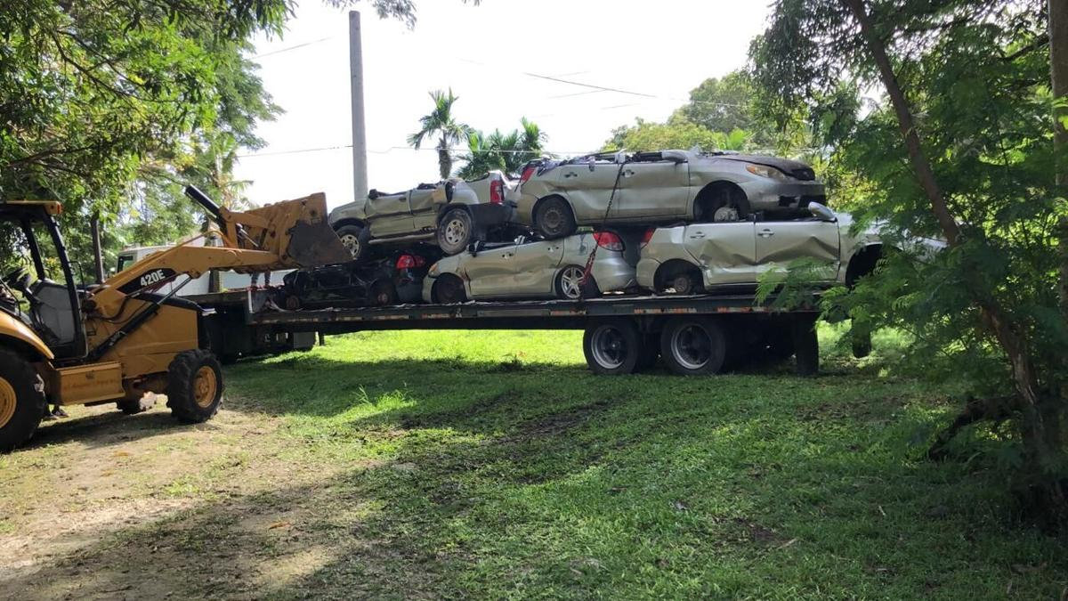 Villages get funds to remove at least 20 junk cars each