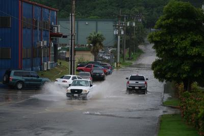 Flooding reported at areas around the island, officials warn of flash flooding