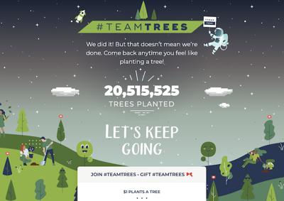 St. John's eco-club helps #TeamTrees reach 20M