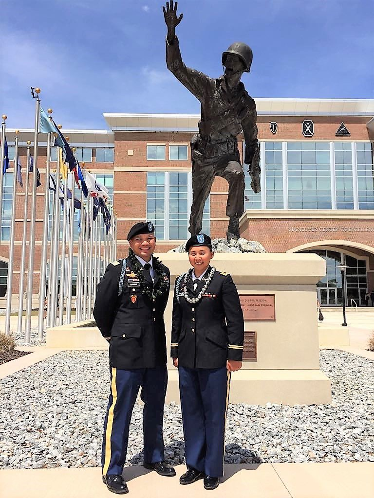 Padilla becomes Guam Guard's first female infantry officer 2