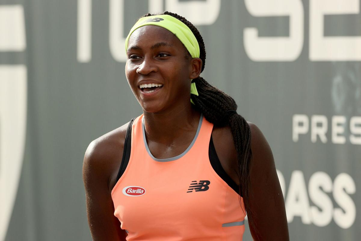 Teenage tennis phenom Coco Gauff proving to be a rising star on and off the court