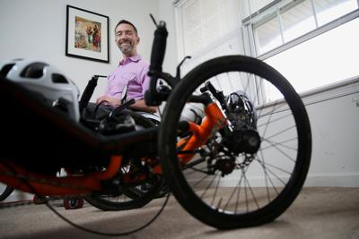 This man got a grave medical diagnosis. So he rode his bike cross-country
