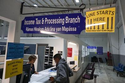1,800 tax refunds will be mailed Monday