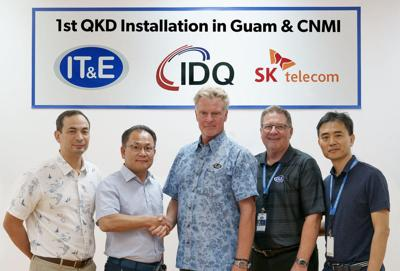IT&E to bring quantum cryptography to the Marianas