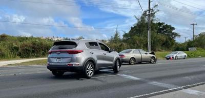 Car crash victim dies