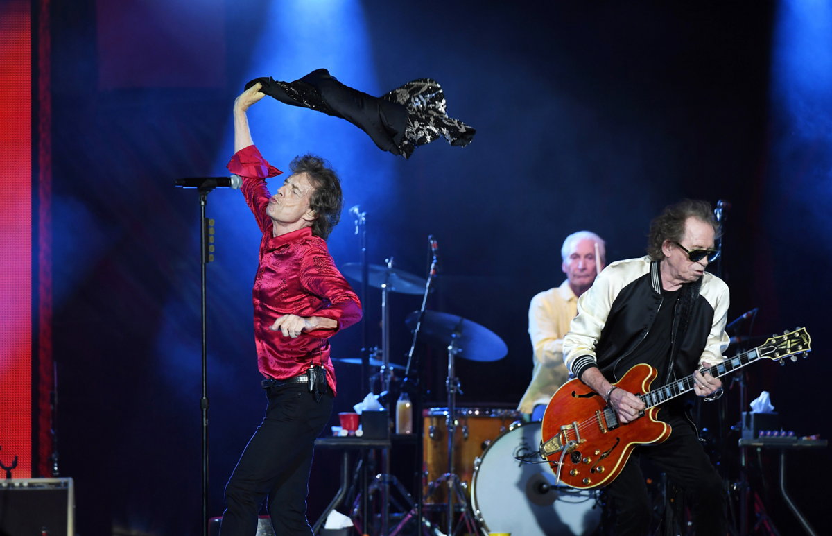 The Rolling Stones want to teach you how to live forever