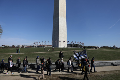 Militias, conservative activists rally in Washington