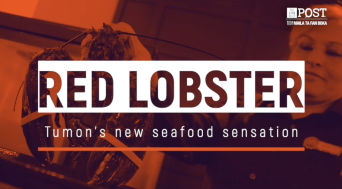 Tumon's new seafood sensation