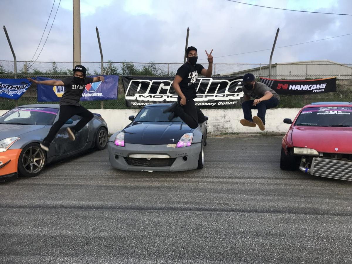 Burrell wins Round 3 of drifting series
