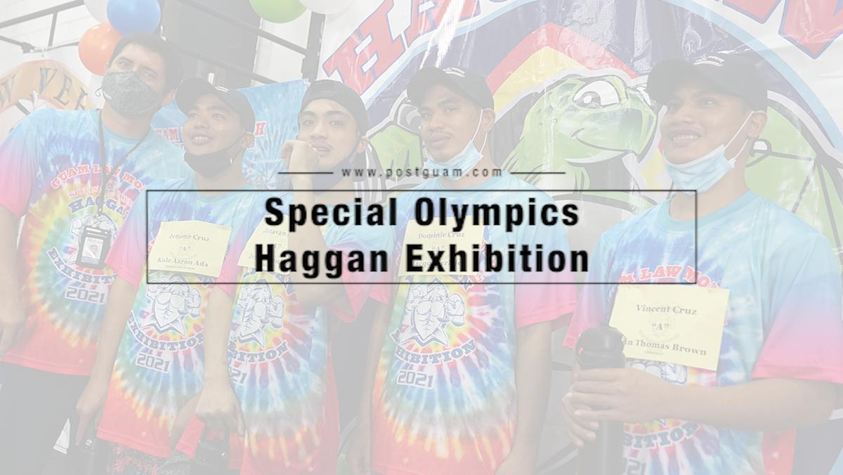 Special Olympians showcase abilities at Haggan Exhibition
