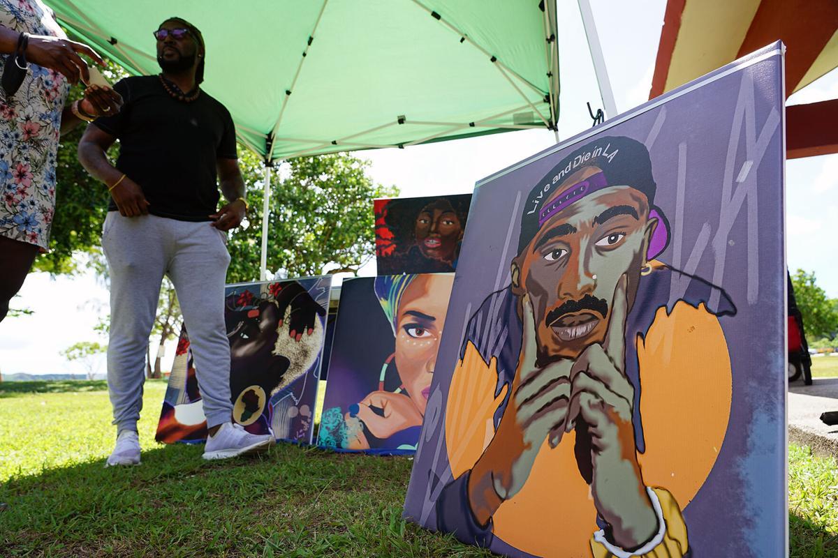 Food, music, art mark Juneteenth celebration