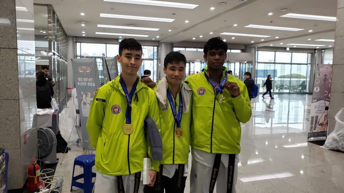 Guam Taekwondo fills podium at 100th Korean sports festival