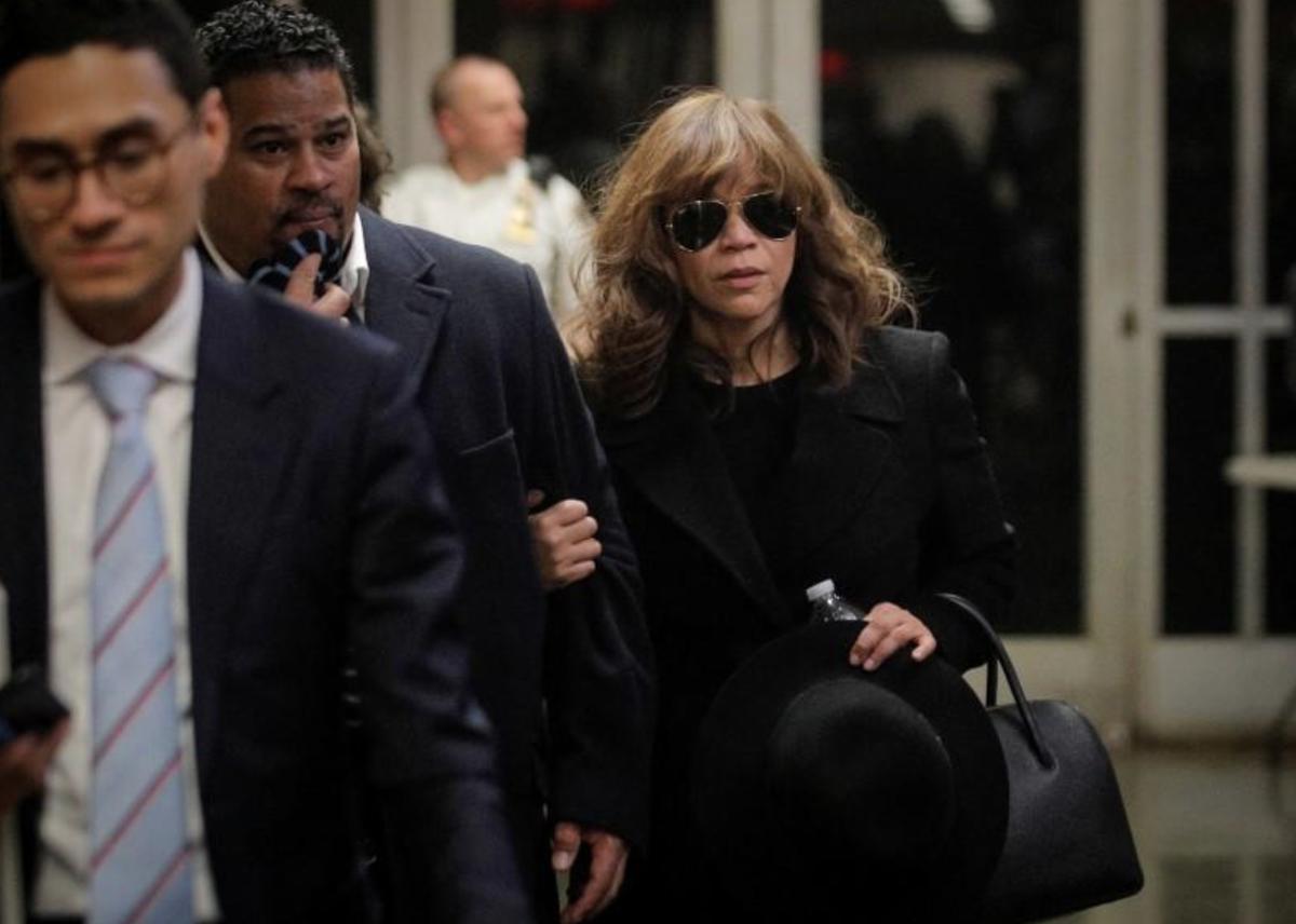 Actress Rosie Perez backs up Annabella Sciorra in Weinstein rape trial