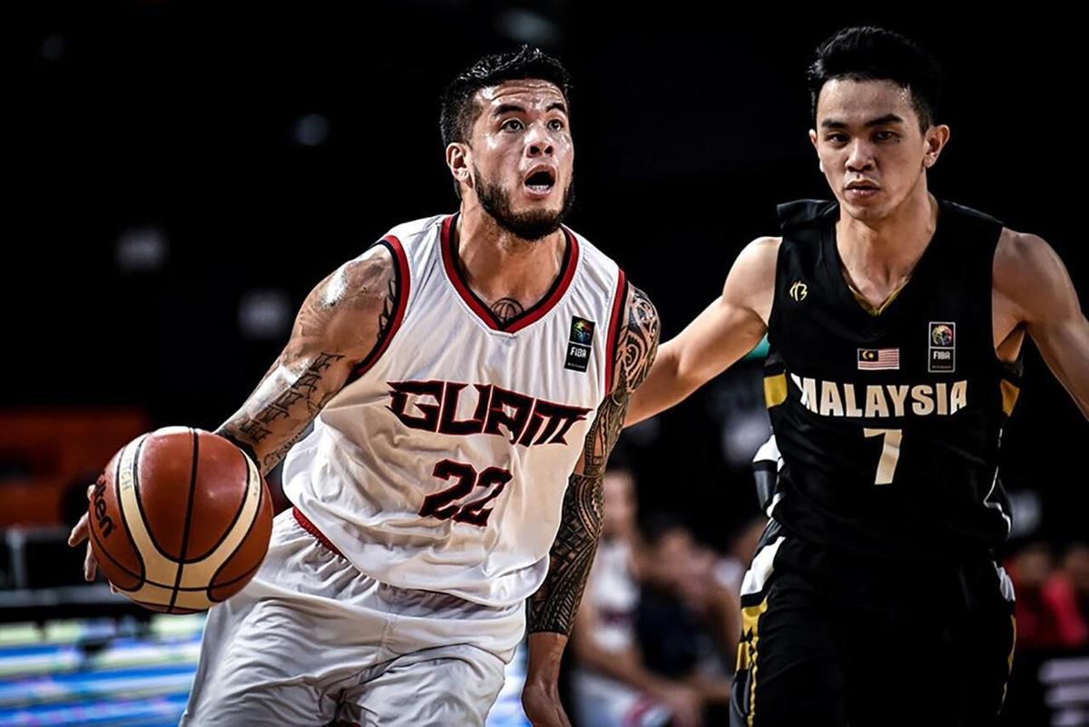 Team Guam in Jordan for FIBA Asia qualifier