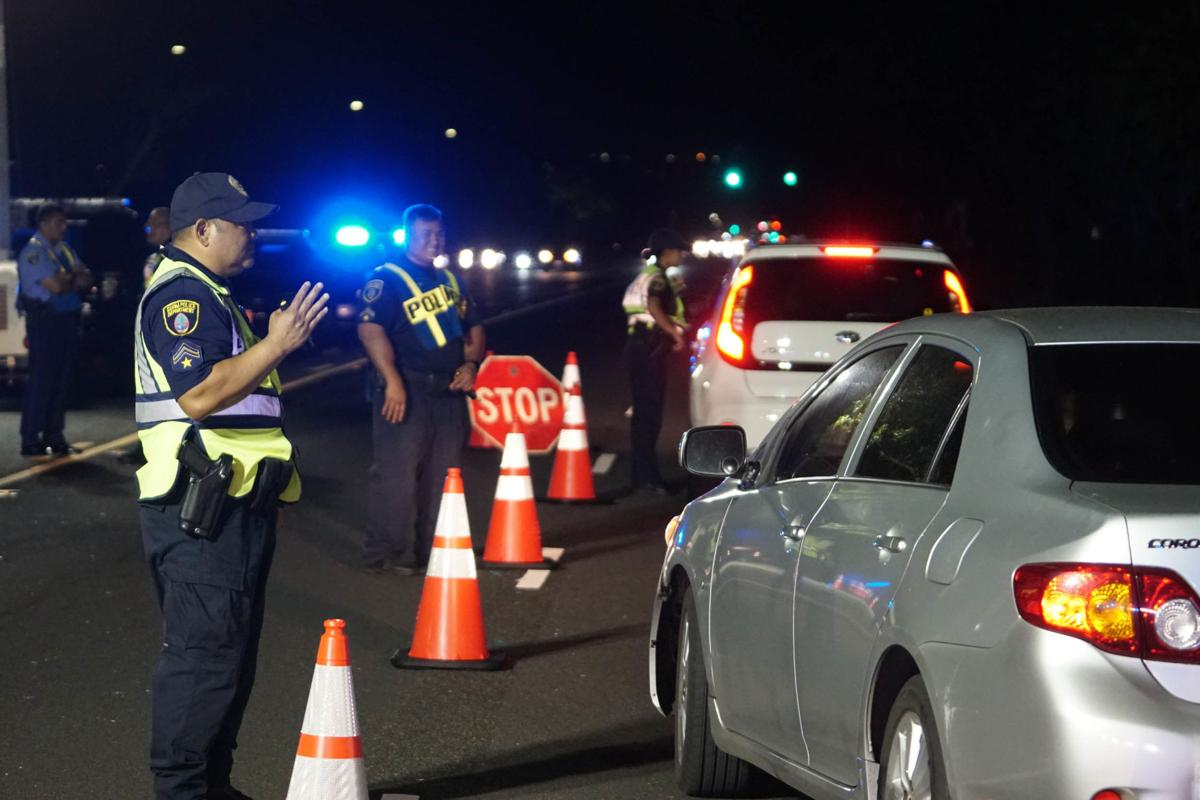 Police on the lookout drivers on drugs or alcohol