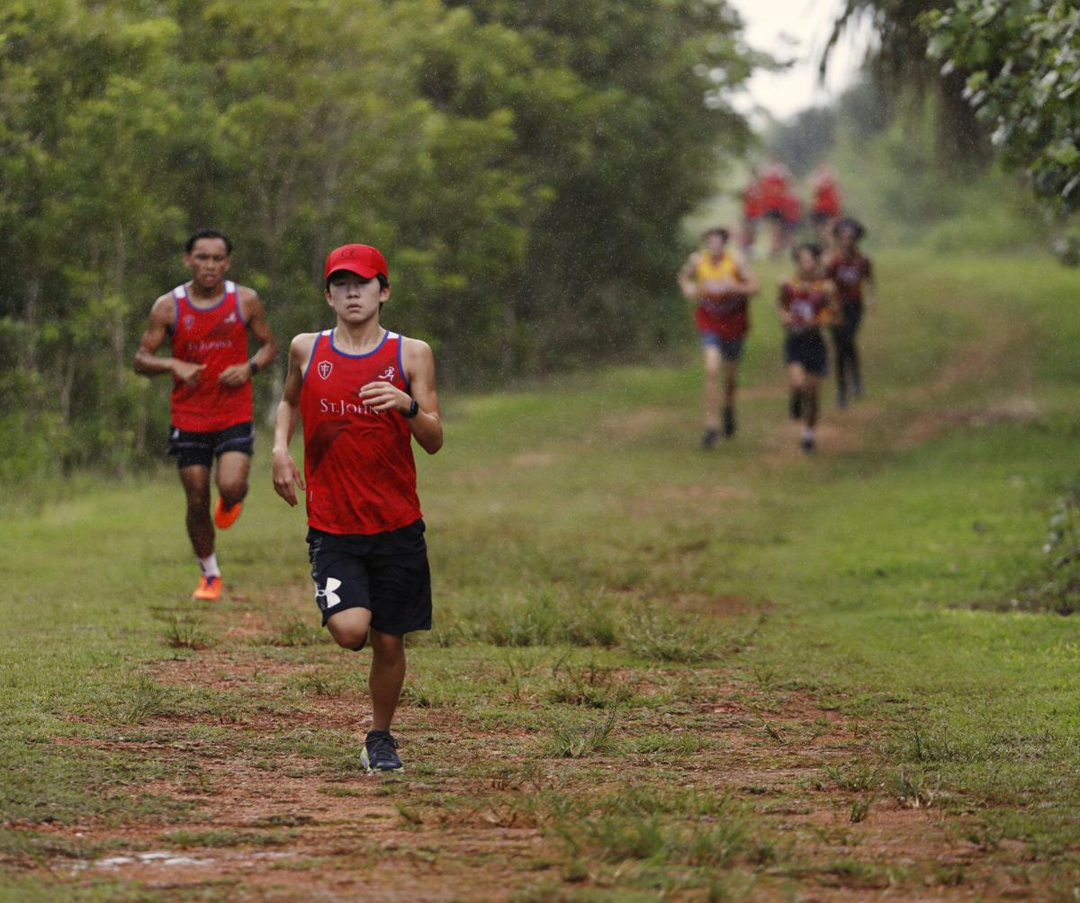 Knights' Baden, Clark shred Two Lovers' cross-country course