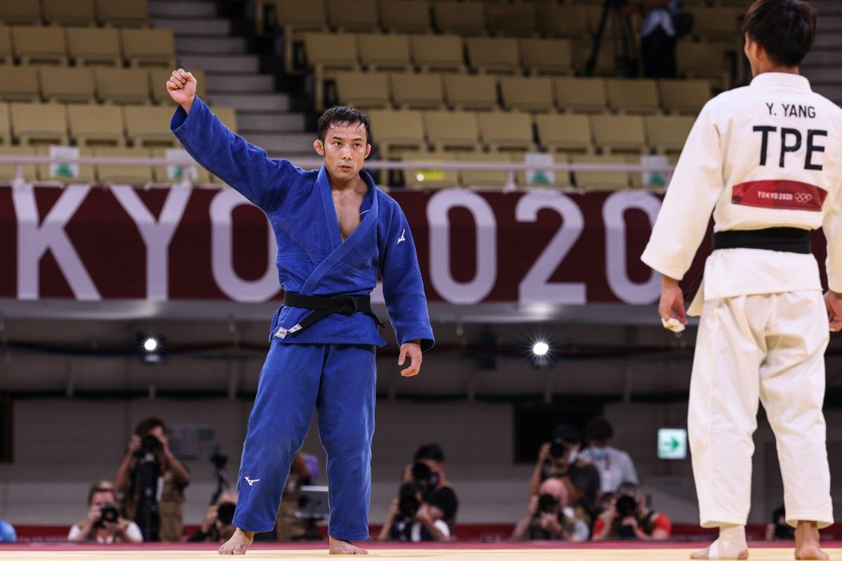 Japan wins its first gold of the Games in judo on hallowed ground