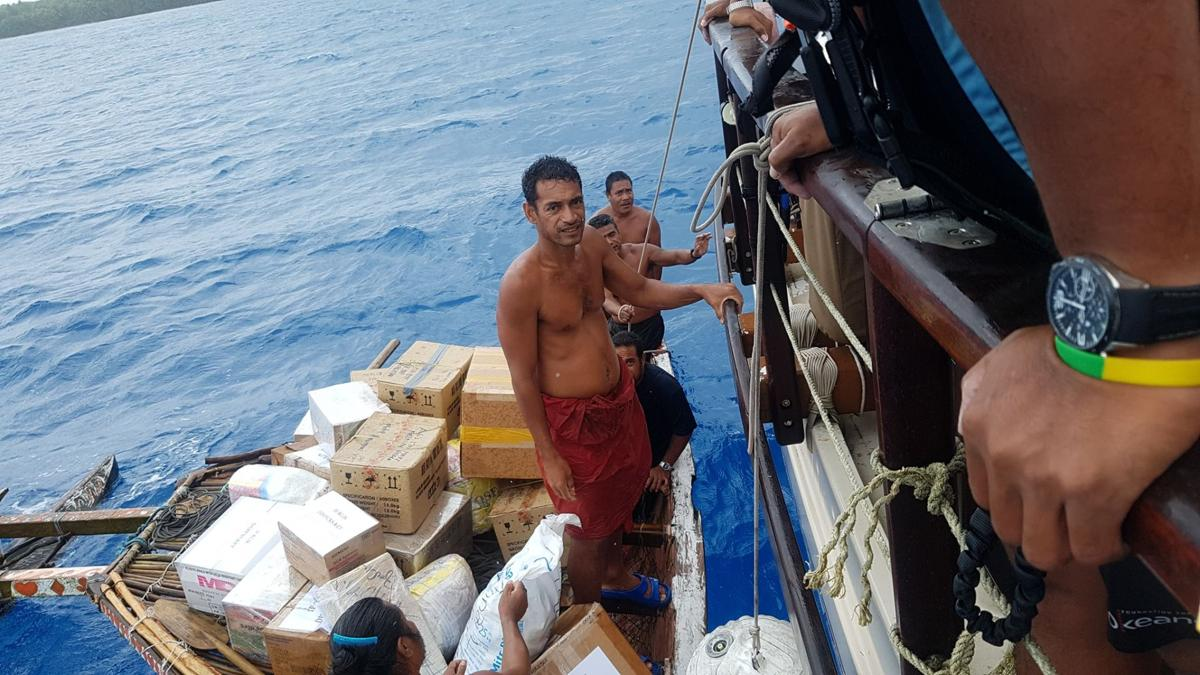 Okeanos brings aid to dengue-stricken Yap state