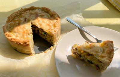 A pasta pie that can change the world – or at least clear out your fridge